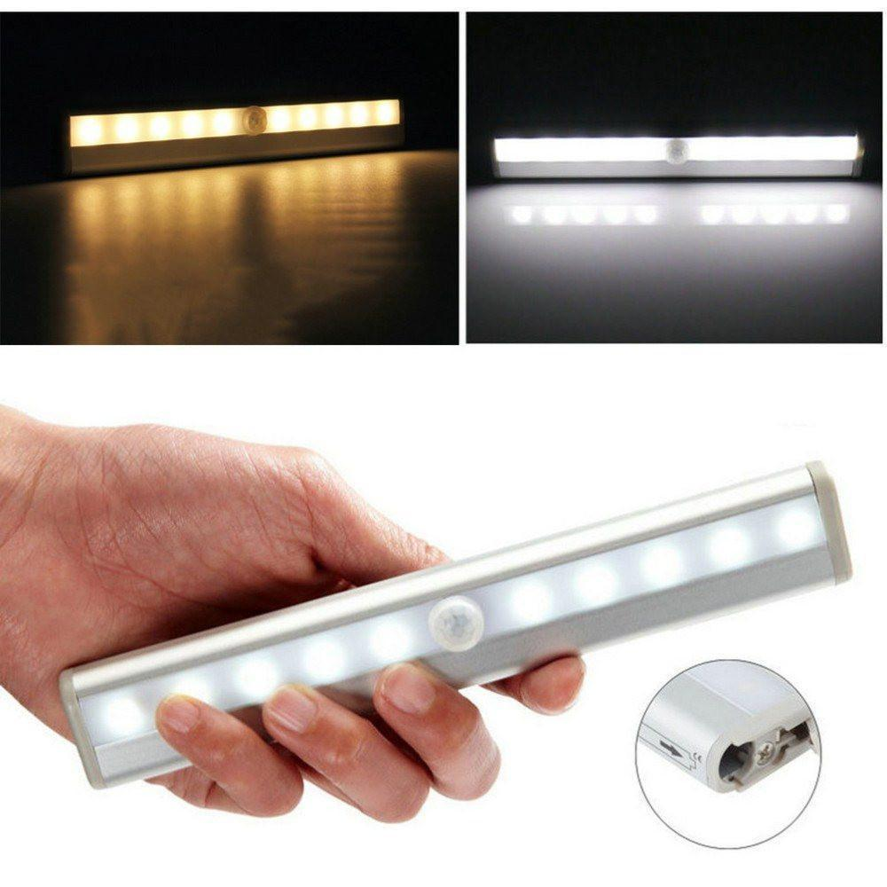 Led - Auto On/ Off Multipurpose Motion Sensor Magnetic Led Light (Bathroom-Staircase-Wardrobe-Car)