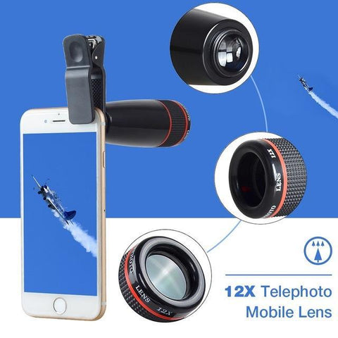 Lens - Complete Mobile Photography Lens Kit - For All Phones
