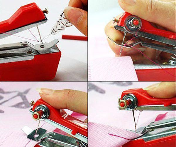 Manual Handheld Handy Stitch Sewing Machine