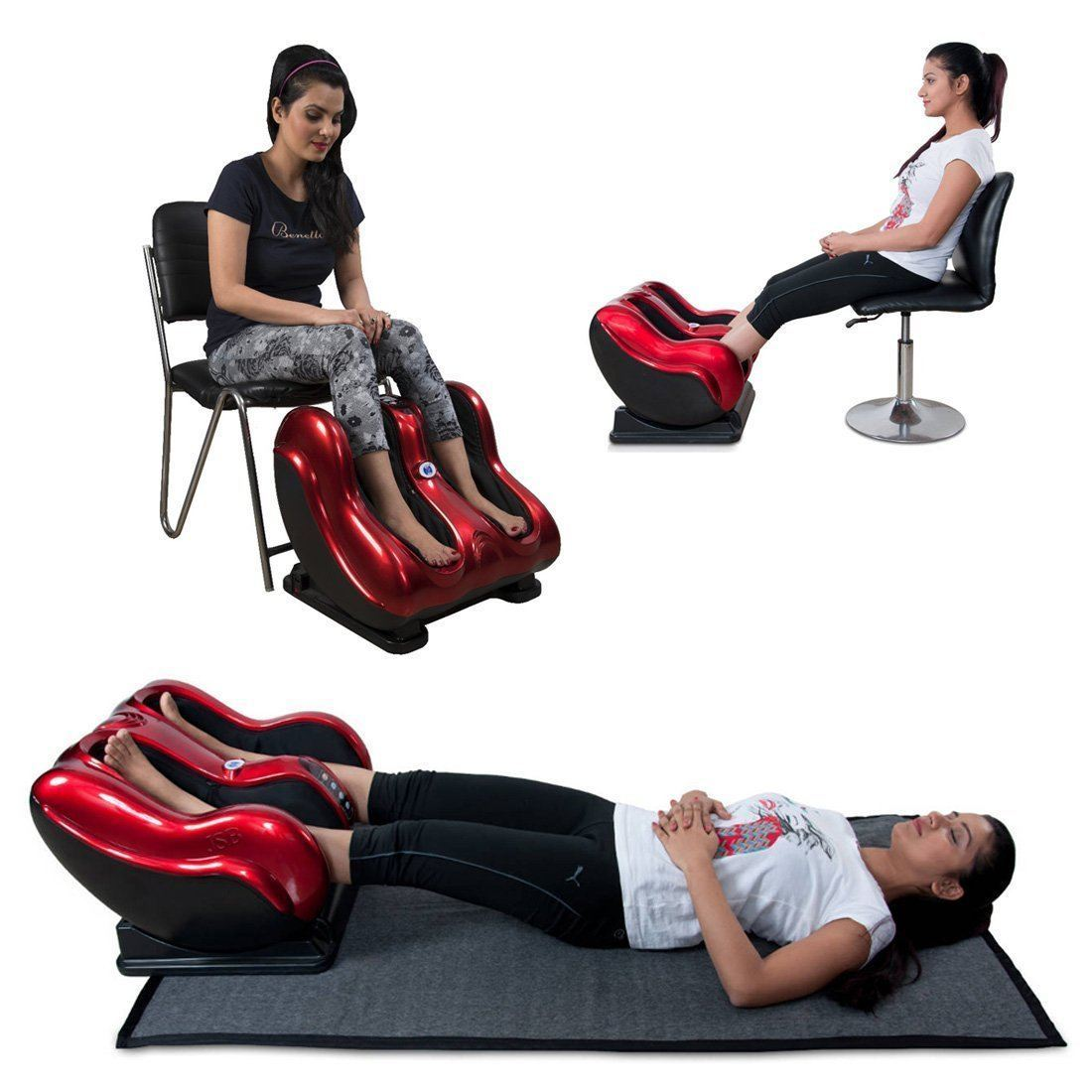 Massager - Leg And Foot And Calf Kneading Rolling Vibration Heating Massager