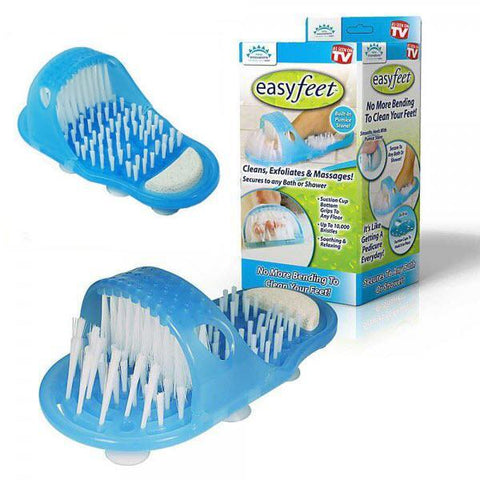 Massager - Tuzech Waterproof Easy Foot Cleaner Shower Slipper For All Age Groups ( FOOT SPA Massager)