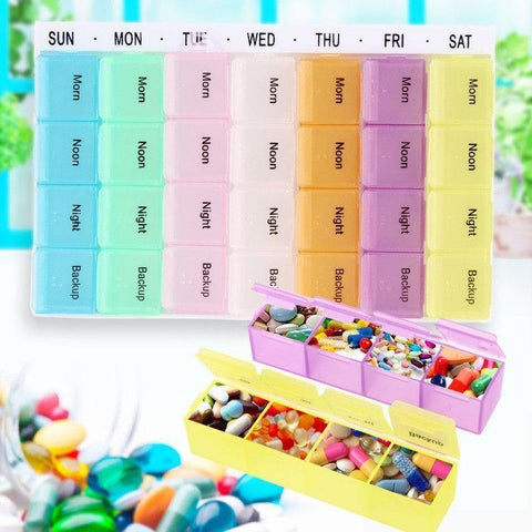 Medicine Box - Tuzech 7 Days Medicine Box  - Hot Selling - 21 Compartments