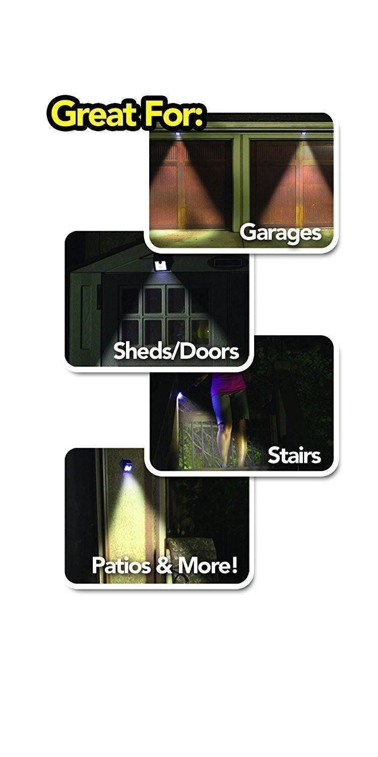 Motion Sensor Led - Tuzech Motion Sensor Outdoor/Indoor Bright Led Lamp - Auto On/Off - Waterproof