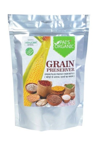 Organic - Exclusive Organic Grain/Pulse Preserver From All The Pests And Bugs