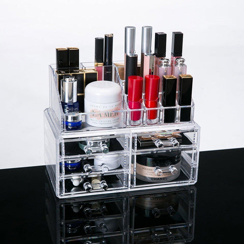 Organiser - 5-Drawer Large Complete Cosmtic Lipstick Organizer Storage Box Jewelry Box
