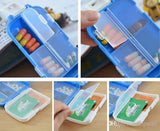 Pill Box - Folca Plastic Jewellery/Pill/Candy/Travel Box Organiser