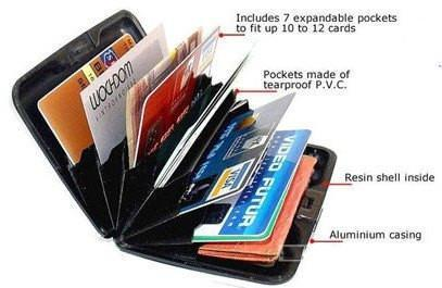 Plastic Waterproof Aluma Card Holder  ( Waterproof)