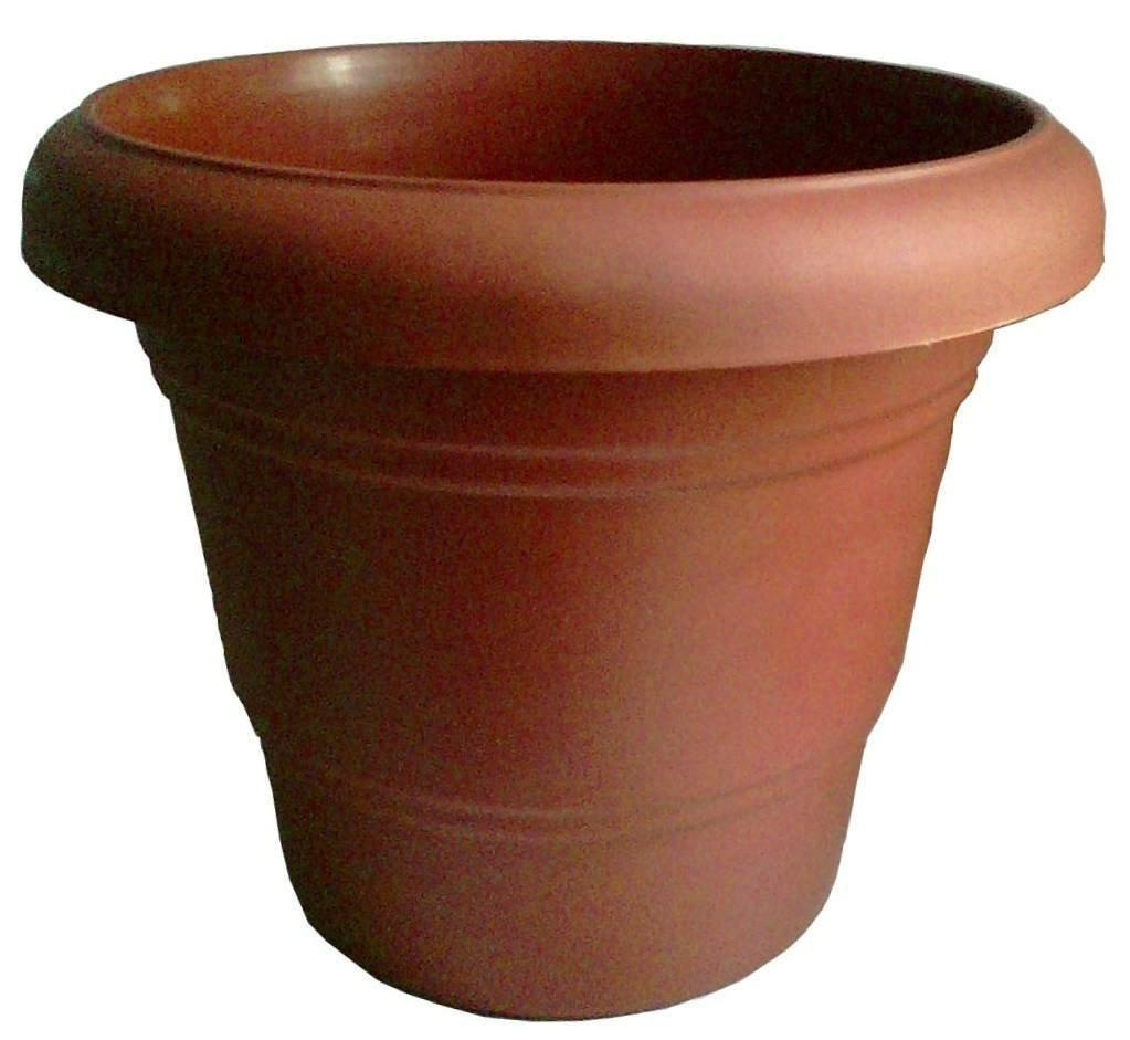 Pot - Large Hard Fibre Flower / Vegetable Pot - Set Of 2