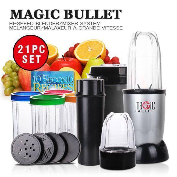 Processor - 21 In 1 Complete Home Blender Machine With Jars And Blades
