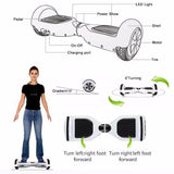 Segway - Self Balancing Led Scooter With Bluetooth Speaker
