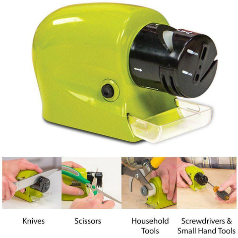 Sharpener - 3 In 1 Electronic Sharpener For Knife , Scissor Etc.