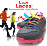 Shoe Lace - 16PCS/Set Unisex  No Tie Click On Silicone Shoe Lace (Fit All Sneakers And Shoe ) ( Change Shoes - Not The Laces)