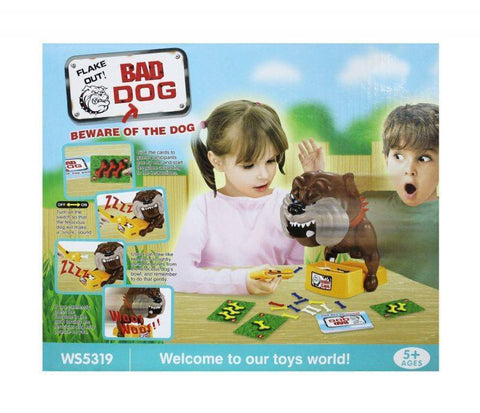 Toys - Electronic Automatic Genuine Flake Out Bad Dog Game (See Video)(Toy)