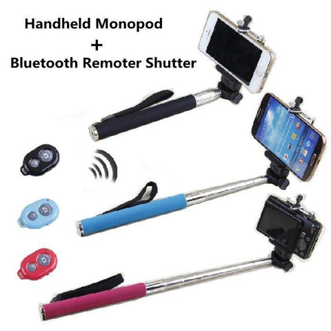Tripods & Heads - Fully Automatic Bluetooth Remote Selfie Stick