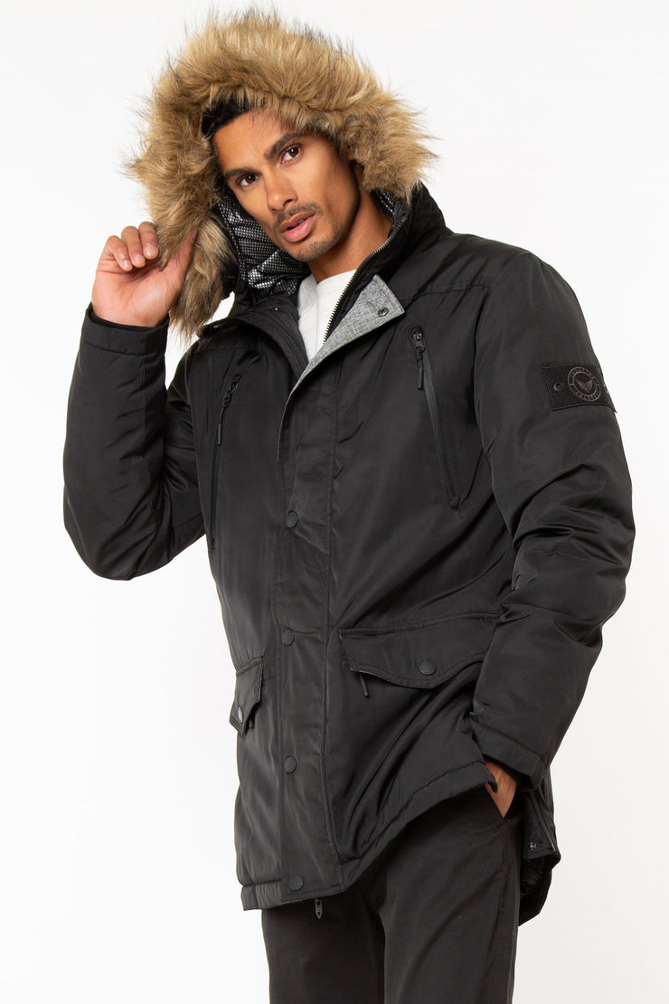 Alternative Down Heavy Parka Hooded Jacket