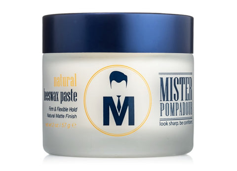 MISTER POMPADOUR- Natural Beeswax Paste