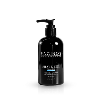 PACINOS- Cooling Clear Shave Gel- 8 oz - Brem's Beard Company