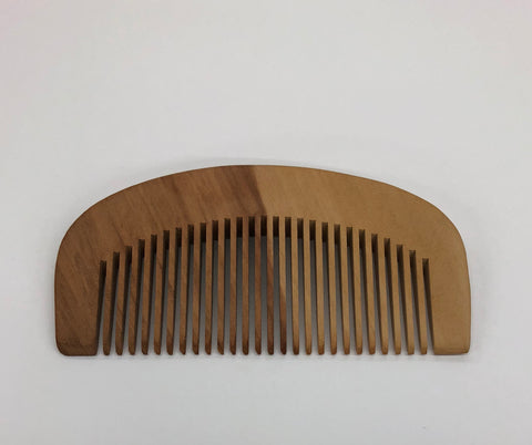 BEARD COMB- Hand Made- Medium Tooth - Brem's Beard Company