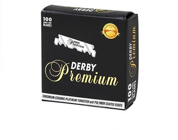 DERBY- Professional PREMIUM single edge blades 100/Box - Brem's Beard Company