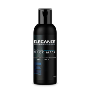 ELEGANCE- Purifying Black Mask 250ml (8.4 oz) - Brem's Beard Company