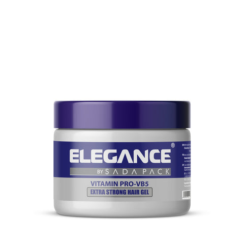 ELEGANCE- Strong Hair Gel  Pro Vitamin -VB5 500ml (16.9oz) - Brem's Beard Company