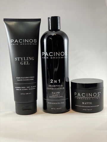 PACINOS - HAIR GROOMING BUNDLE