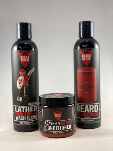 BEARD OCTANE - BEARD WASH AND CONDITIONING BUNDLE