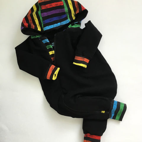 Winter Onesie-Rainbow