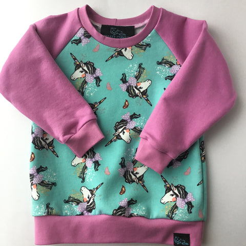 Crewneck-Unicorn