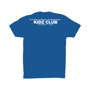 Super Giver Royal Blue Tee (Youth)