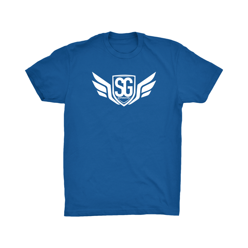 Super Giver Royal Blue Tee (Adult)