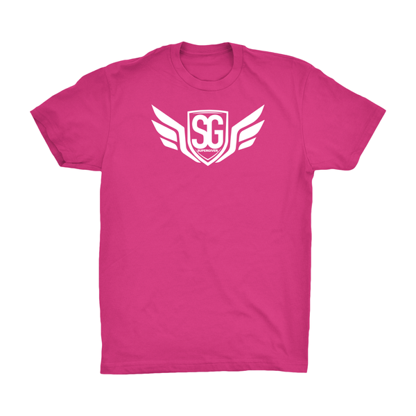 Super Giver Pink Tee (Youth)