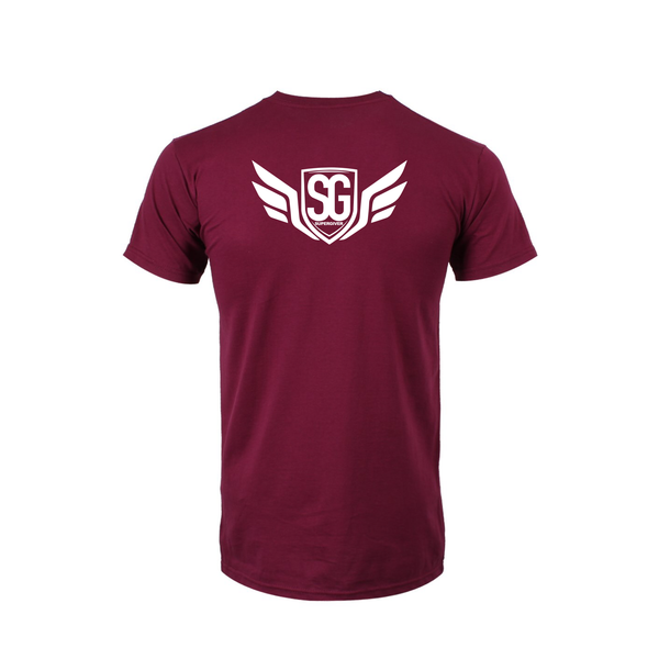 Super Giver Maroon Tee (Youth)