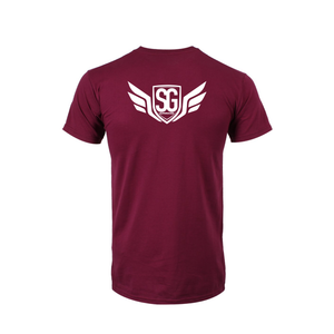 Super Giver Maroon Tee (Adult)