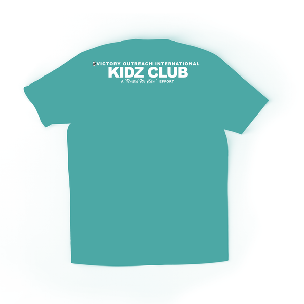 Super Giver Turquoise Tee (Youth)