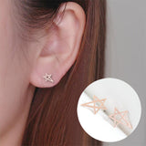 Cute Star Stud Earrings