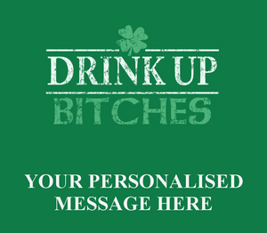 4 Personalised St Patrick's Day Beer Bottle Labels