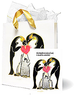 Penguin family - MB-1034A