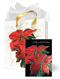Two Poinsettias MB-1022A