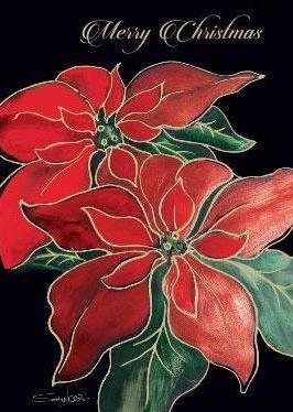 Two Poinsettias-1022