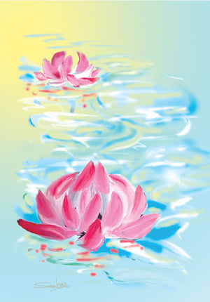 Water Lily 2 - FL-1007A