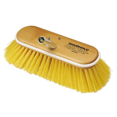 "Shurhold 10"" Polystyrene Medium Bristle Deck Brush"