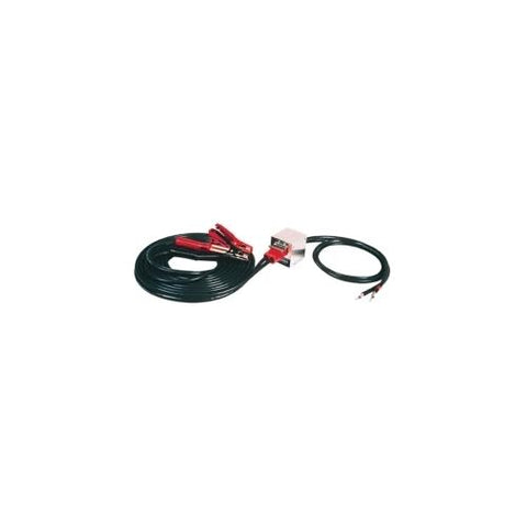 TOW TRUCK STARTER CABLES WITH PLUG