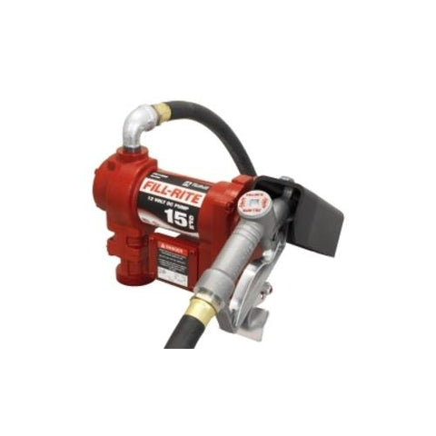 "12V DC Pump, Suction Pipe, 3/4""x12' Hose, 1"" Inlet"