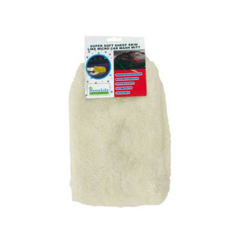 Super Soft Microfiber Auto Wash Mitt ( Case of 60 )