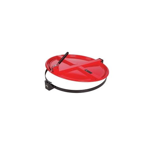 Pig Latching Drum Lid - for 55 gallon - Red