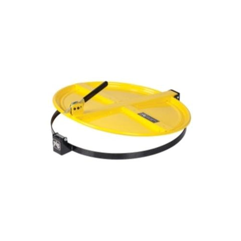 Pig Latching Drum Lid - for 55 gallon - Yellow