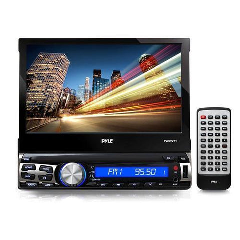 "Pyle 7"" Flip-out 7-inch Bluetooth and GPS Navigation DVD AM/FM Receiver"