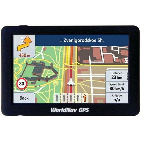 "Teletype Worldnav 5880 High-resolution 5"" Truck Gps Device (pack of 1 Ea)"
