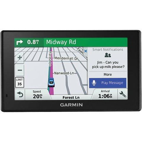 "Garmin Drivesmart 50lmt 5"" Gps Navigator With Bluetooth & Free Lifetime Maps & Traffic Updates (pack of 1 Ea)"